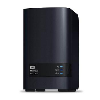 Product image for Western Digital WD My Cloud EX2 Ultra 2-Bay 4TB Hotswap NAS 1.3GHz Dual-Core 1GB RAM | AusPCMarket Australia