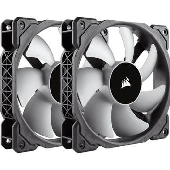 Product image for Corsair ML120 120mm Premium Magnetic Levitation Fan Twin Pack | AusPCMarket Australia