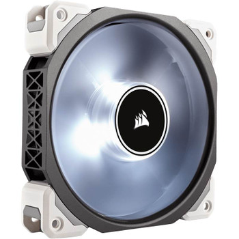 Product image for Corsair ML120 Pro LED 120mm Premium Mag-Lev Fan White | AusPCMarket Australia