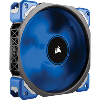 Product image for Corsair ML120 PRO LED 120mm Premium Magnetic Levitation Fan Blue | AusPCMarket Australia