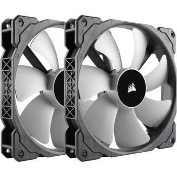 Product image for Corsair ML140 140mm Premium Magnetic Levitation Fan Twin Pack | AusPCMarket Australia