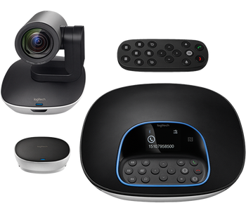 Product image for Logitech GROUP Video Conferencing System for Mid/Large-Sized Meeting Rooms | AusPCMarket Australia
