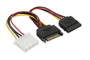 Product image for 15CM SATA M  to Molex & SATA Power Cable | AusPCMarket Australia