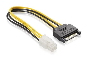 Product image for 15CM SATA M To ATX P4 Power cable | AusPCMarket Australia