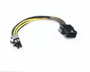 Product image for 20CM PCIe 6Pin M to 8Pin F Cable | AusPCMarket Australia