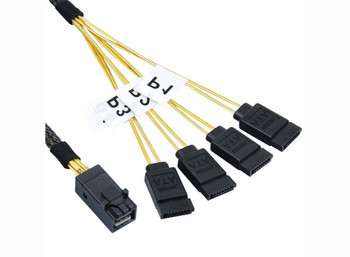 Product image for 50CM Mini SAS HD to 4 x SATA Cable | AusPCMarket Australia