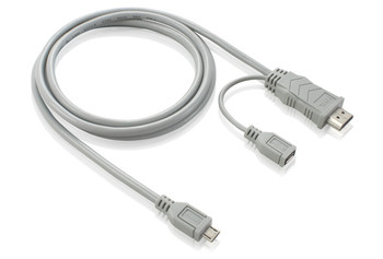 Product image for 3M Micro USB to HDMI Male MHL Adapter Cable | AusPCMarket Australia