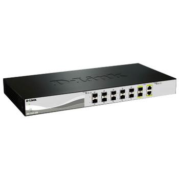 Product image for D-Link DXS-1210-12SC 12 Port 10 Gigabit WebSmart Switch   AusPCMarket Australia
