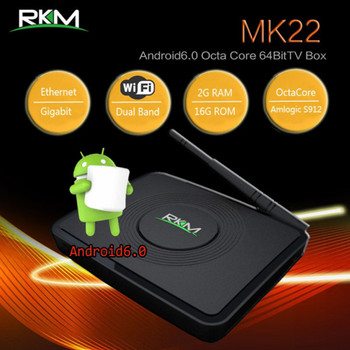 Product image for RKM MK22 Octa Core 4K Android 6.0 mini PC 2G/16G, wifi, BT4.0 | AusPCMarket Australia