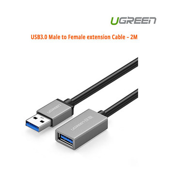 Product image for 2M UGreen USB3.0 Male to Female extension Cable | AusPCMarket Australia