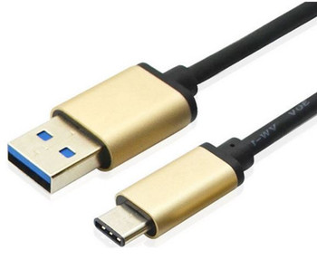 Product image for 1m USB 3.1 Type C Male to USB 3.0 Type A Male Cable 1m | AusPCMarket Australia
