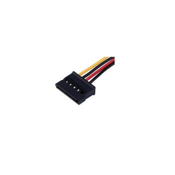 Product image for Aerocool 140mm 4Pin Molex To SATA Power Adapter Cable | AusPCMarket Australia
