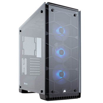 Product image for Corsair Crystal 570X RGB Black ATX Case | AusPCMarket Australia