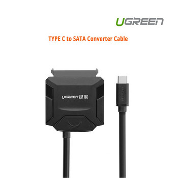 Product image for UGreen USB 3.0 type C to SATA converter cable (40272) | AusPCMarket Australia