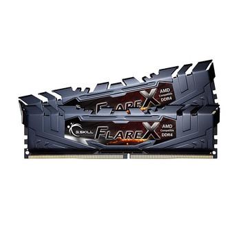 Product image for G.Skill Flare X 32GB (2x 16GB) DDR4 2400Mhz Memory Black   AusPCMarket Australia