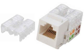 Product image for Astrotek CAT6 UTP Keystone Jack for Socket kit 10ps per pack White | AusPCMarket Australia