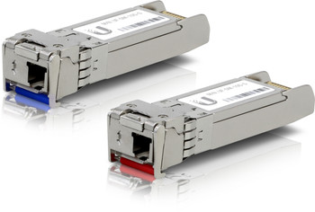 Product image for Ubiquiti U Fiber  SFP+ Single-Mode Module 10G BiDi 2-pack   AusPCMarket Australia