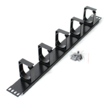 Product image for Astrotek 1U Rack Mount Cable Management Metal Panel | AusPCMarket Australia