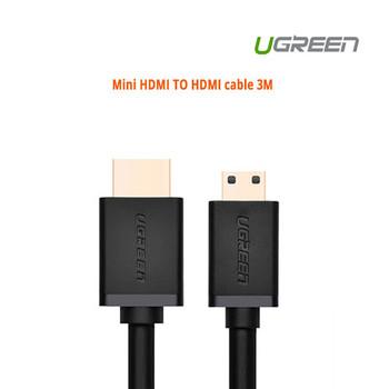 Product image for 3M UGreen Mini HDMI TO HDMI cable | AusPCMarket Australia