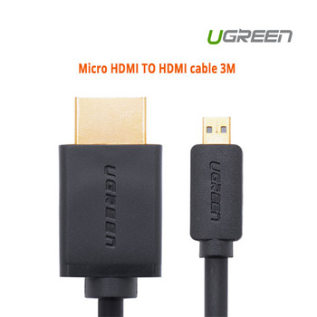 Product image for 3M UGreen Micro HDMI TO HDMI cable | AusPCMarket.com.au