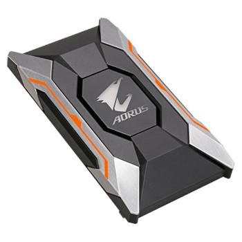 Product image for Gigabyte AORUS RGB SLI HB Bridge - 2 Slot Spacing | AusPCMarket.com.au
