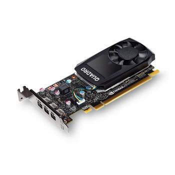 Product image for Leadtek Nvidia Quadro P1000 4GB Low-Profile Workstation Video Card | AusPCMarket Australia
