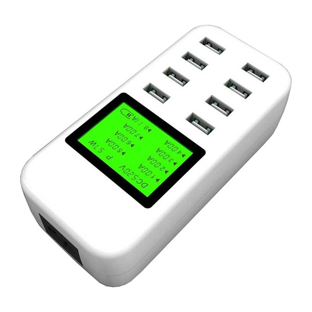 Simplecom CU880 8 Port Smart USB Charger with LCD Display Product Image 3