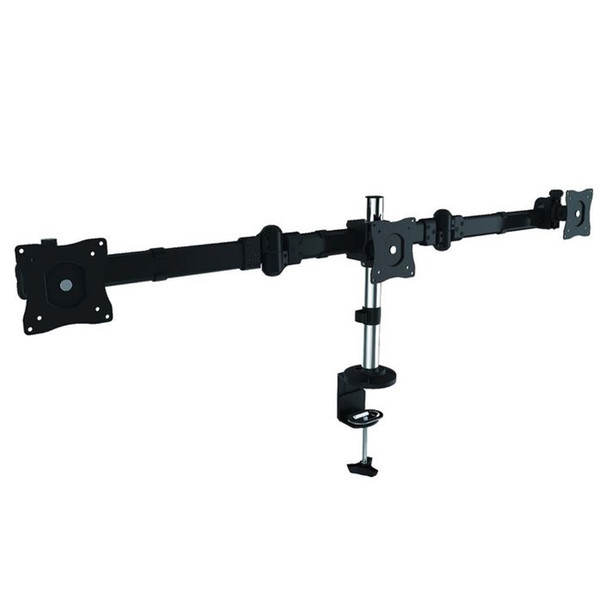 Brateck Outstanding Three LCD Desk Mounts with Desk Clamp VESA Product Image 2