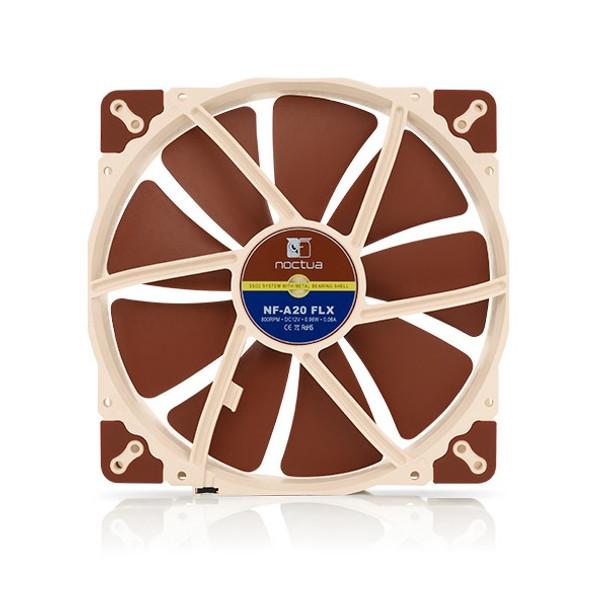 Product image for Noctua NF-A20 200mm FLX 800RPM Fan   AusPCMarket Australia