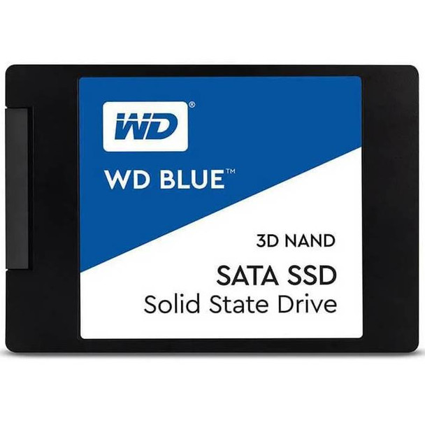 Product image for Western Digital WD Blue 2.5in SATA SSD 2TB   AusPCMarket Australia