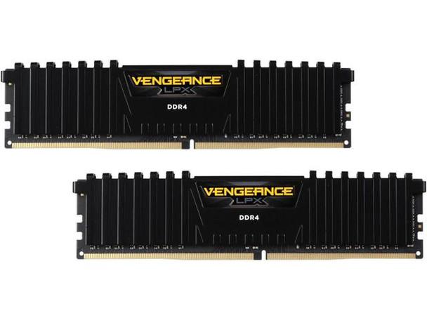 Product image for Corsair Vengeance LPX 16GB (2x 8GB) DDR4 CL16 2666MHz Memory Black | AusPCMarket Australia