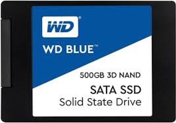 Product image for Western Digital WD Blue 2.5in SATA SSD 500GB   AusPCMarket Australia