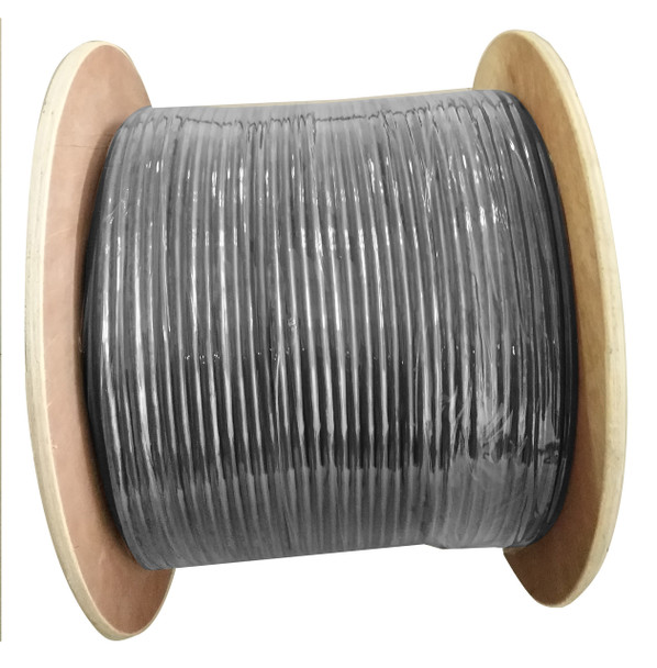 Product image for Cat 6A Underground/External Cable 350m Roll in Black | AusPCMarket Australia