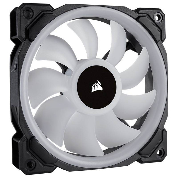 Corsair LL120 RGB 120mm Independent RGB PWM Fan Black Product Image 3