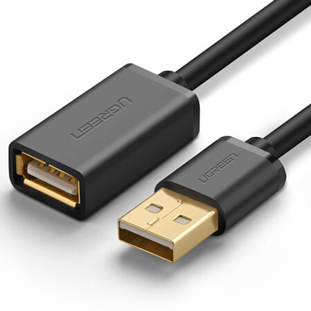 Product image for 1.5M UGreen USB 2.0 A Male To A Female Extension Cable 10315 | AusPCMarket Australia