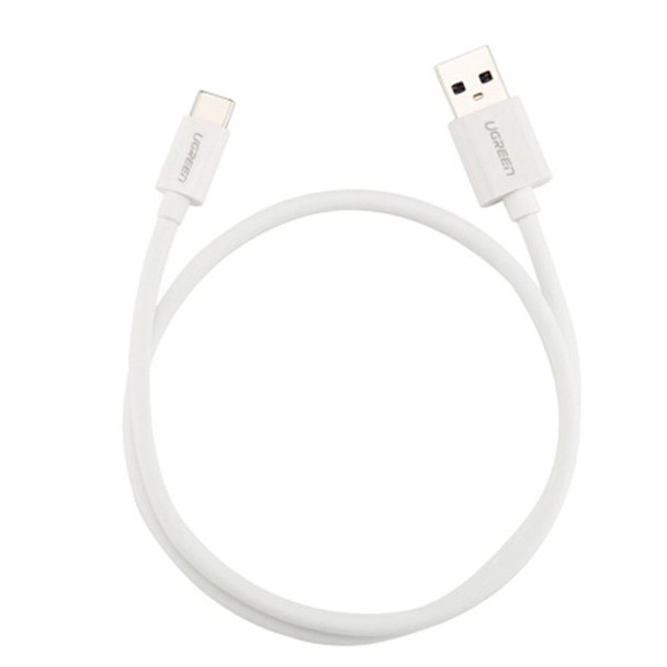 2M UGreen UGreen USB-TypeC to USB3.0 Cable White 30625 Product Image 2