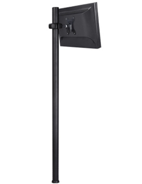 Product image for Atdec Spacedec Display Donut Pole 1150mm Black | AusPCMarket Australia