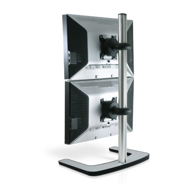 Product image for Atdec Visidec Freestanding Dual Monitor Vertical Stand | AusPCMarket Australia