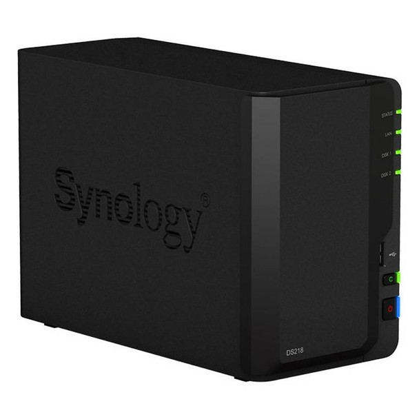 Synology DiskStation DS218 2 Bay Diskless NAS Product Image 2