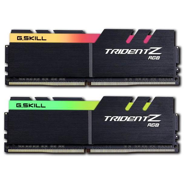 G.Skill Trident Z RGB 16GB (2x 8GB) DDR4 3200Mhz Memory AMD Product Image 2
