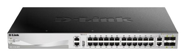Product image for D-Link 54 port Stackable Gigabit Switch with 6 10GbE ports   AusPCMarket Australia