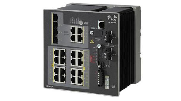 Product image for Cisco IE 4000 16 x RJ45 10/100M 4x1G Combo LAN Base | AusPCMarket Australia