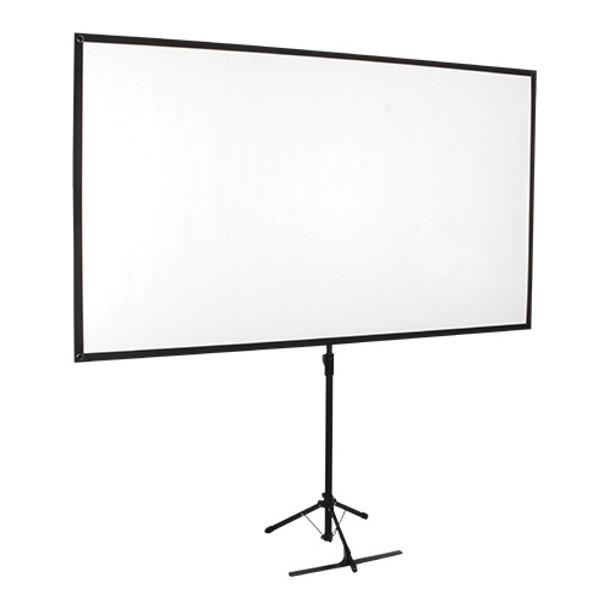 Product image for Brateck Economy 80in Tripod Projector Screen Black 16:9 | AusPCMarket Australia