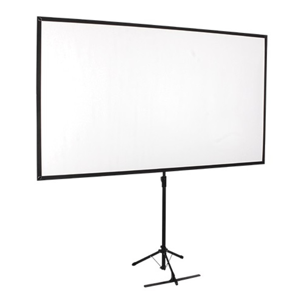 Product image for Brateck Economy 80in Tripod Projector Screen Black 16:9 | AusPCMarket Australia