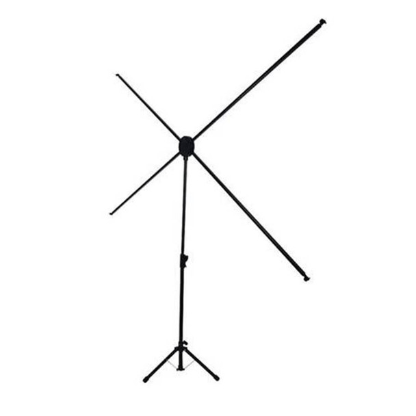 Brateck Economy 80in Tripod Projector Screen Black 16:9 Product Image 2