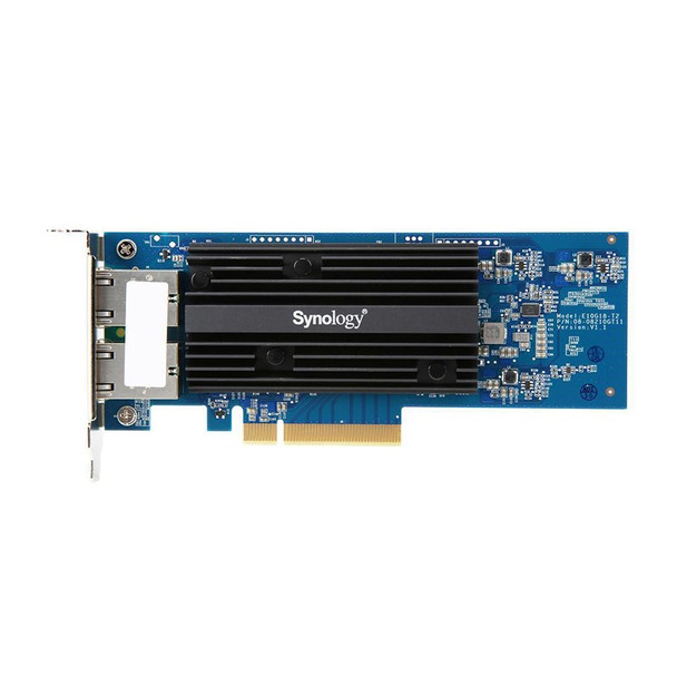 Synology E10G18-T2 10GbE Dual RJ45 PCIe 3.0 x8 Ethernet Adapter