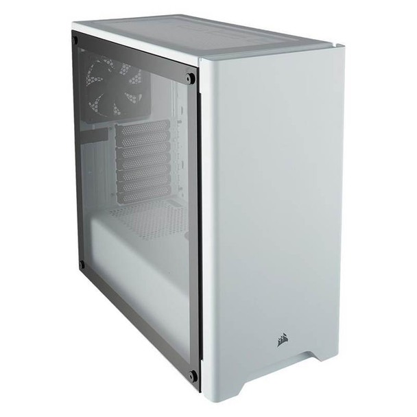 Corsair Carbide 275R Tempered Glass Case - White Product Image 2