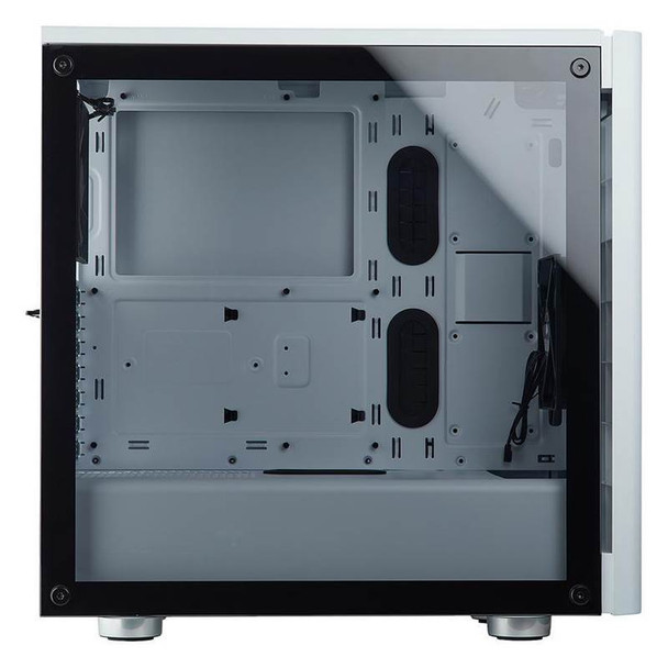 Corsair Carbide 275R Tempered Glass Case - White Product Image 4