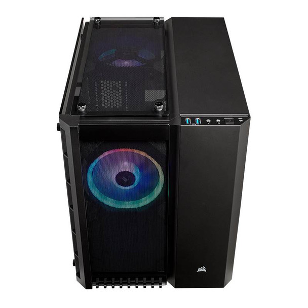 Corsair Crystal Series 280X RGB mATX Case Black Product Image 7