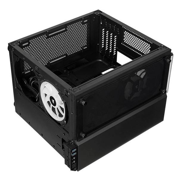 Corsair Crystal Series 280X RGB mATX Case Black Product Image 10